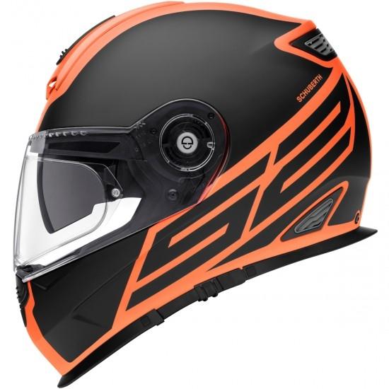 Casque SCHUBERTH S2 Sport Traction Orange