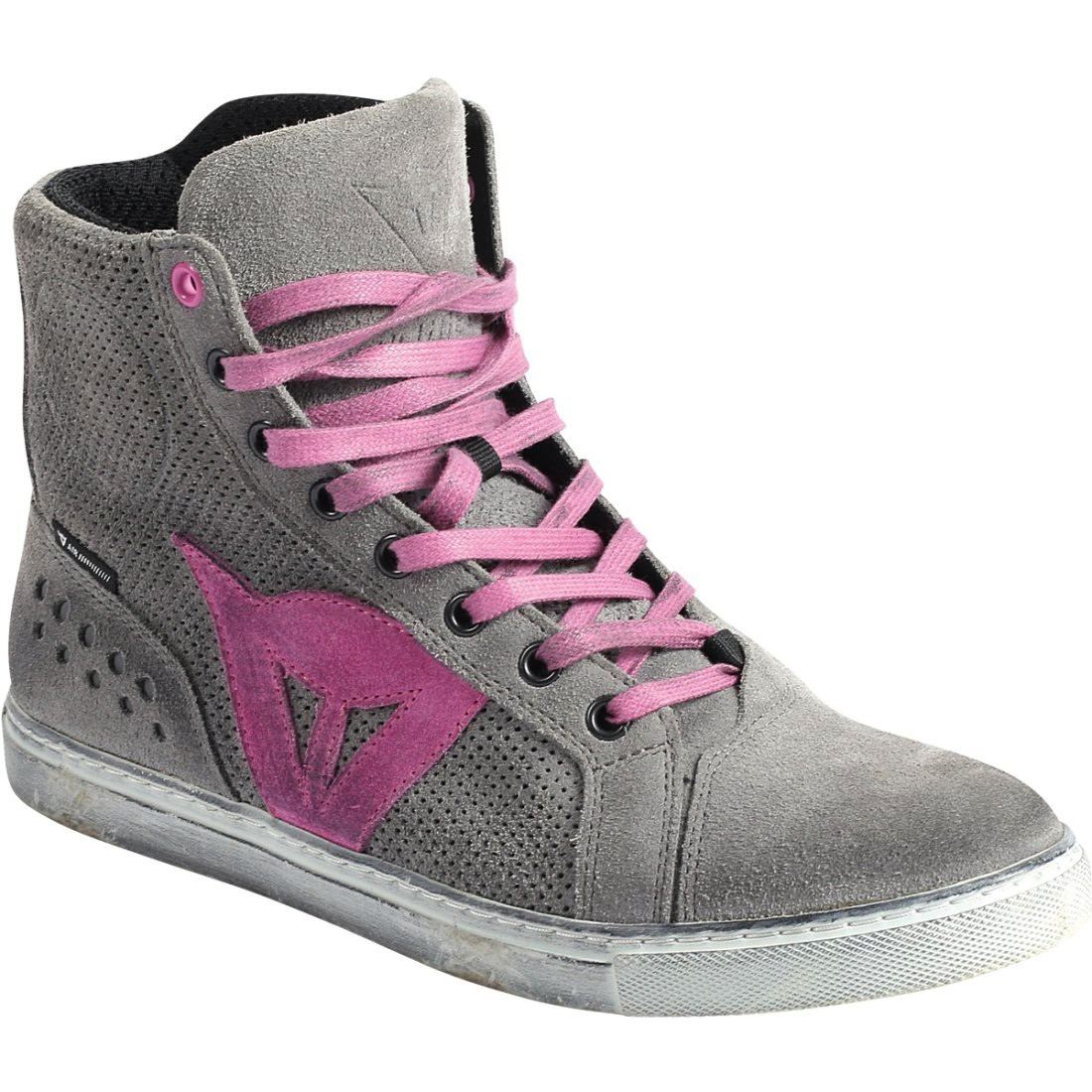 DAINESE Street Biker Air Lady Gray Orchid Boots