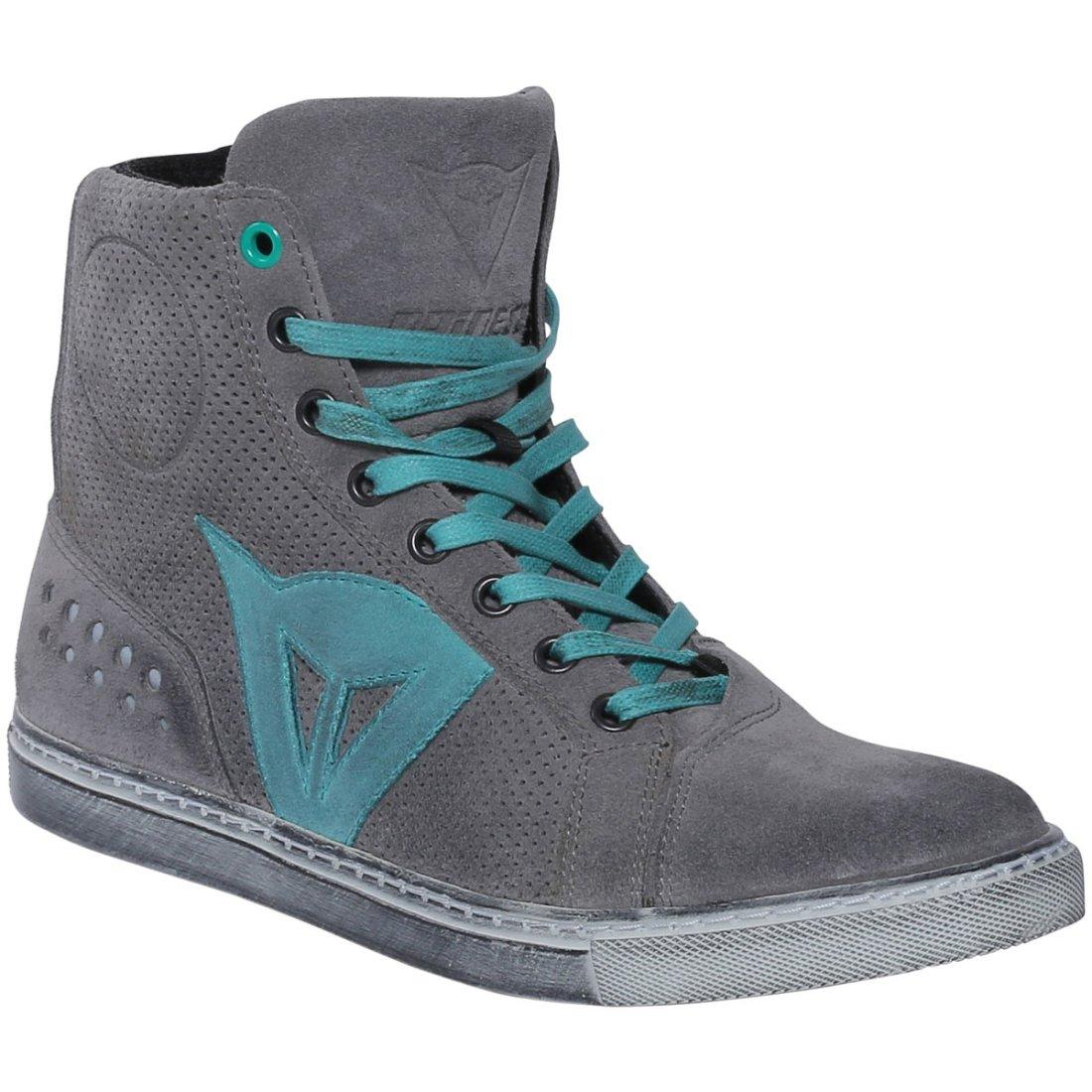 DAINESE Street Biker Air Lady Gray Aquamarine Boots
