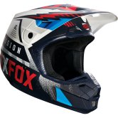 FOX V2 Vicious 2016 Blue / White