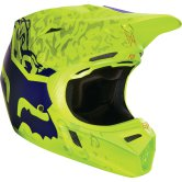 FOX V3 Cauz 2016 Matte Yellow