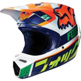 FOX V3 Divizion 2016 Orange / Blue