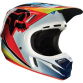 FOX V4 Race 2016 Blue / Red