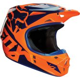 FOX V1 Race 2016 Orange / Blue