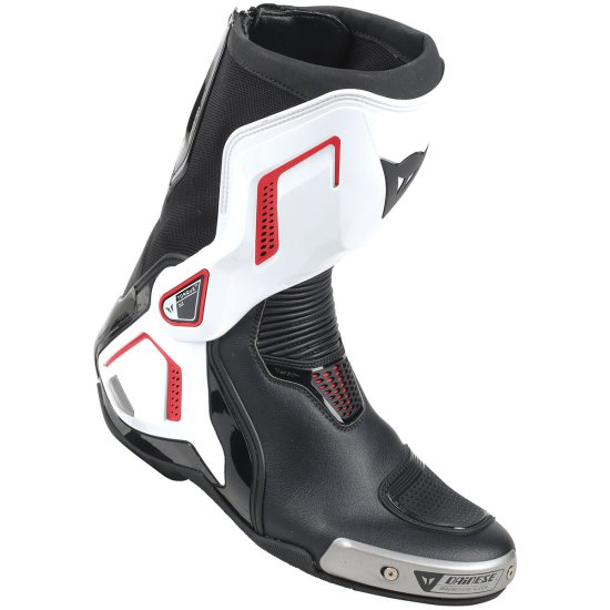 Bottes DAINESE Torque D1 Out Black / White / Lava Red