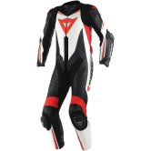 DAINESE Laguna Seca D1 Professional Black / White / Fluo-Red