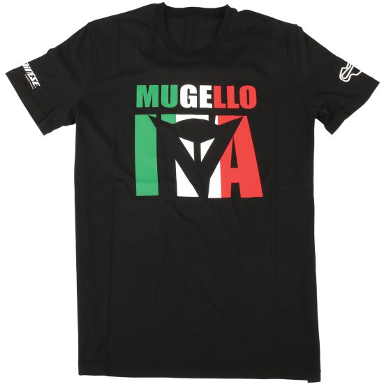 Maillot off road DAINESE Mugello Flag D1 Black