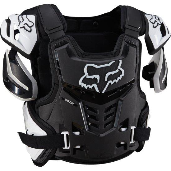 FOX Raptor CE 2019 Black / White Protection