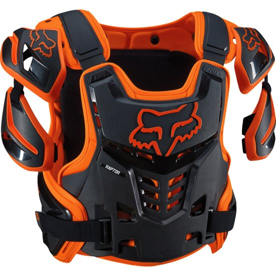 Proteccion FOX Raptor CE 2019 Orange