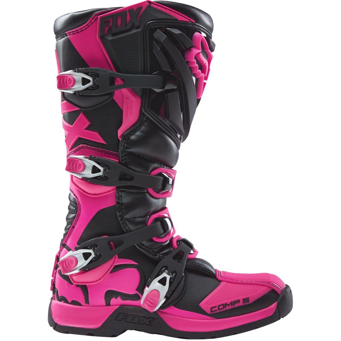 Comp Fox 5 Lady Black Pink Boots CBoredx