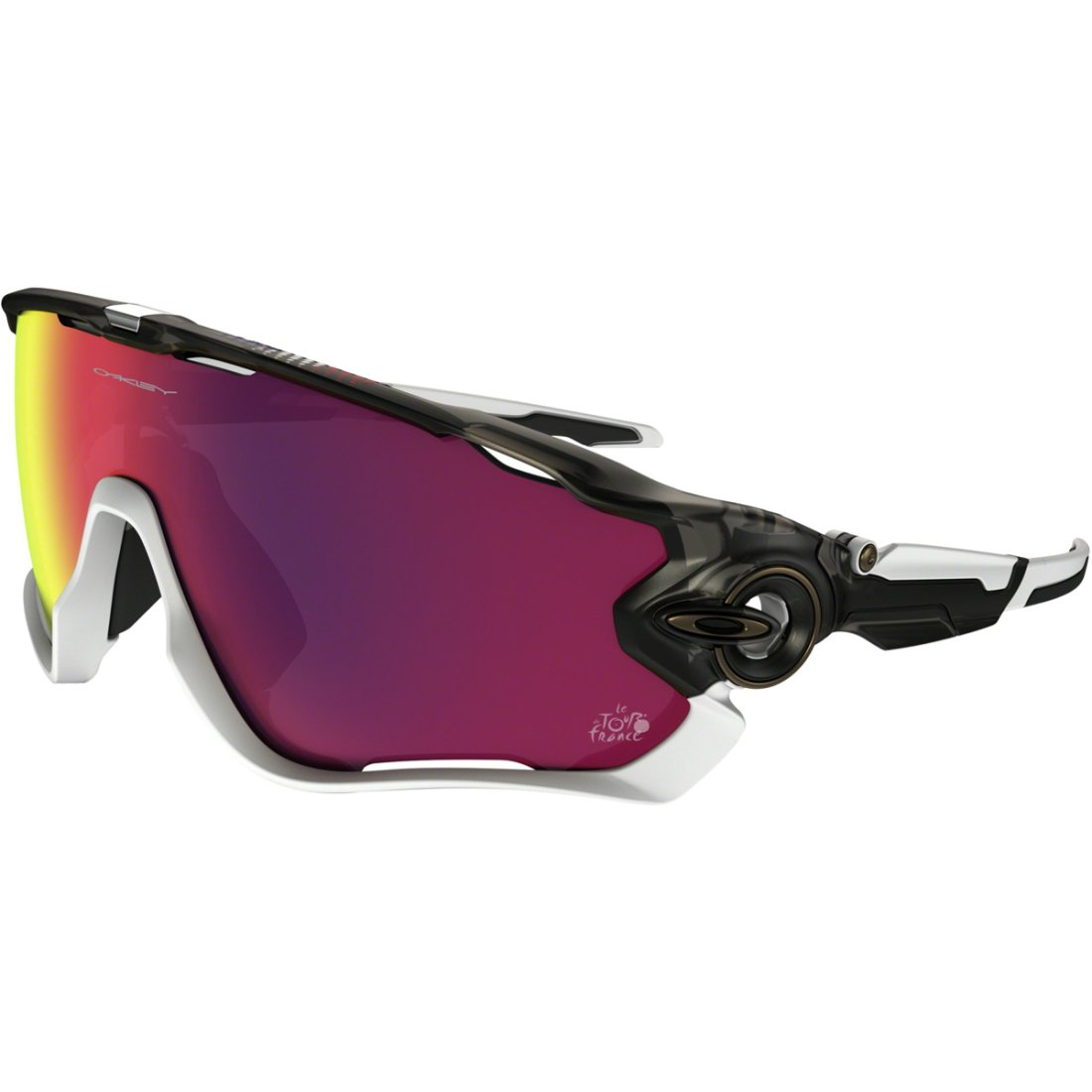 masque lunettes oakley jawbreaker tour de france matte gray smoke prizm road motocard. Black Bedroom Furniture Sets. Home Design Ideas