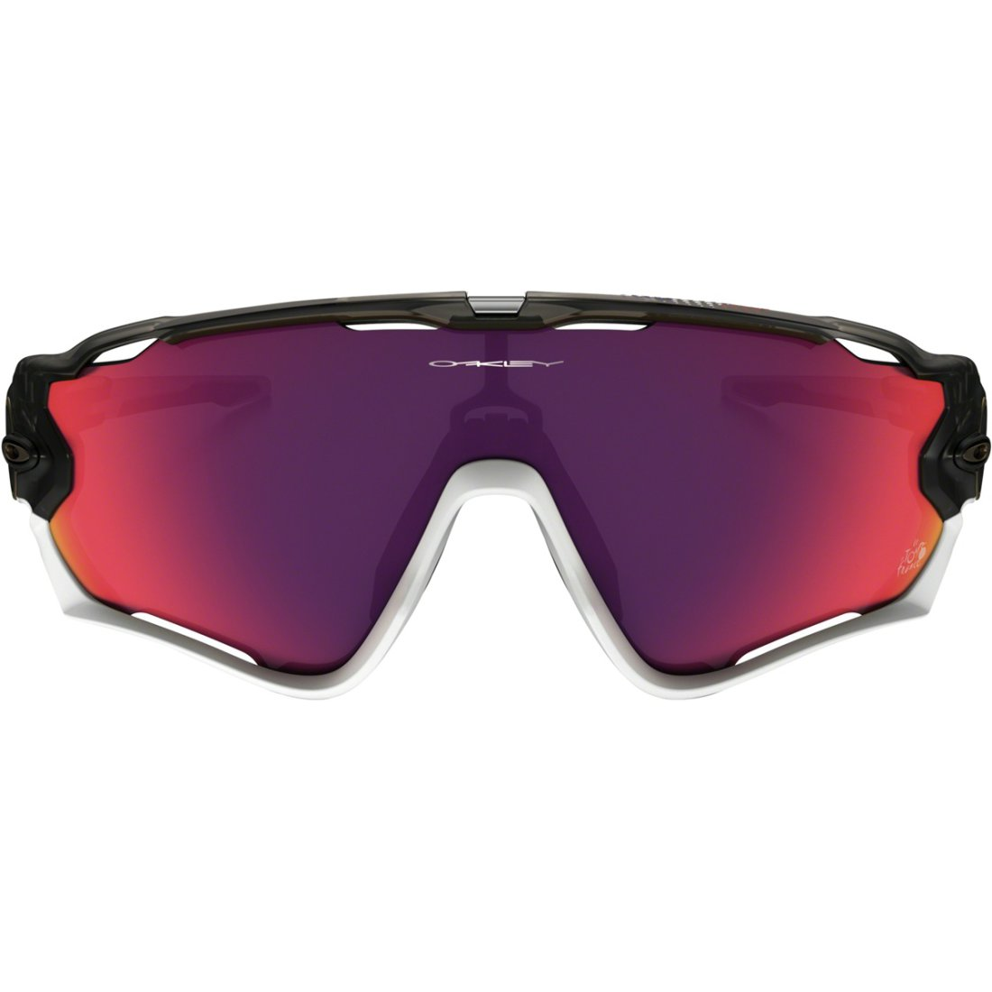 031c703fb9 OAKLEY Jawbreaker Tour de France Matte Gray Smoke   Prizm Road Mask   Goggle