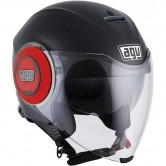 AGV Fluid Matt Black / Red