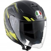 AGV K-5 Jet Urban Hunter Matt Black / Yellow