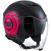 AGV Fluid Pix Black / Fuxia