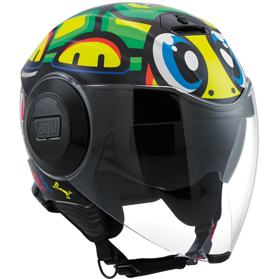 agv fluid rossi tartaruga helmet motocard. Black Bedroom Furniture Sets. Home Design Ideas