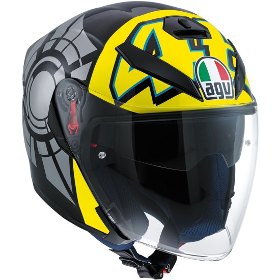 Casco AGV K-5 Jet Rossi Winter Test 2012