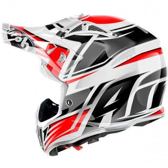 Capacete AIROH Aviator 2.2 Restyle Red Gloss