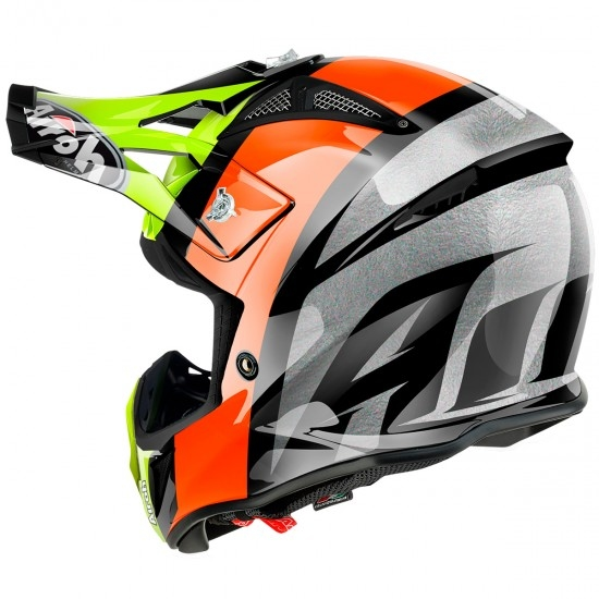 Casco AIROH Aviator 2.2 Revolve Orange Gloss