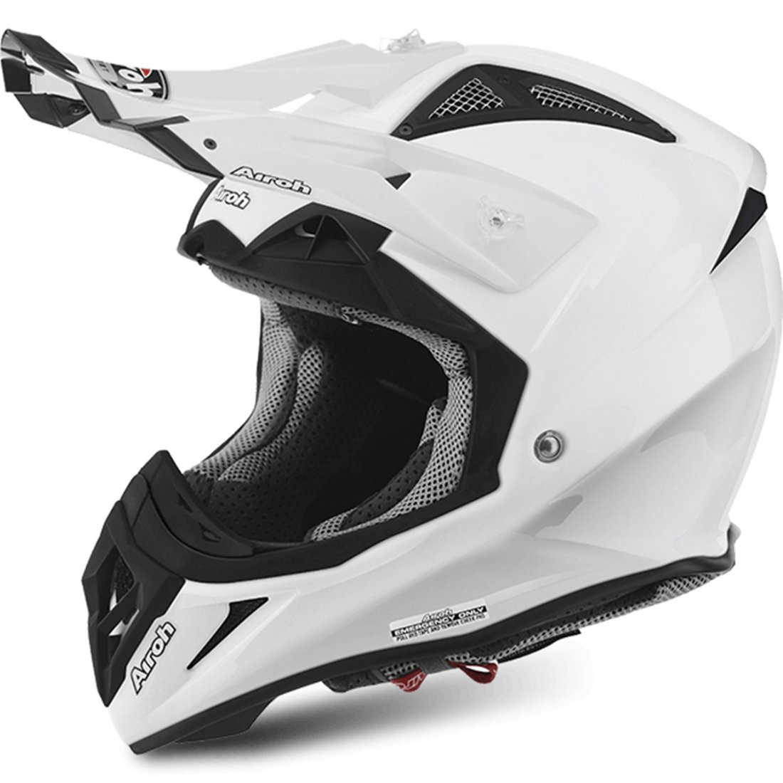 airoh aviator 2 2 white gloss helmet motocard. Black Bedroom Furniture Sets. Home Design Ideas