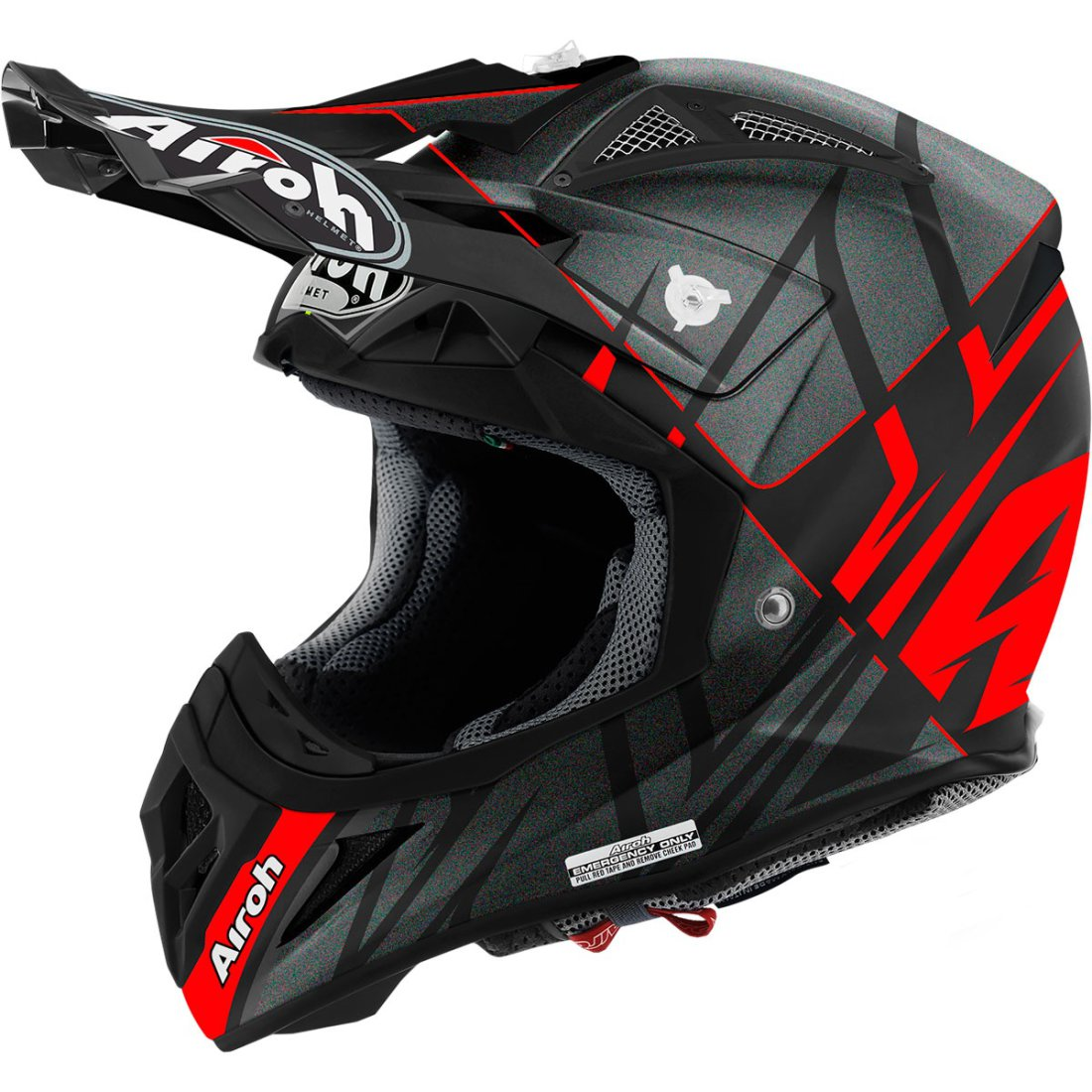 casco airoh aviator 2 2 styling red matt motocard. Black Bedroom Furniture Sets. Home Design Ideas