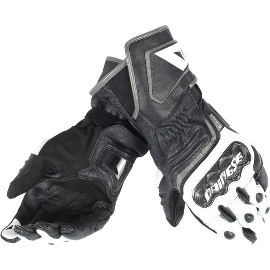 Guanto DAINESE Carbon D1 Long Black / White / Anthracite