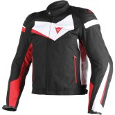 DAINESE Veloster Tex Black / White / Red
