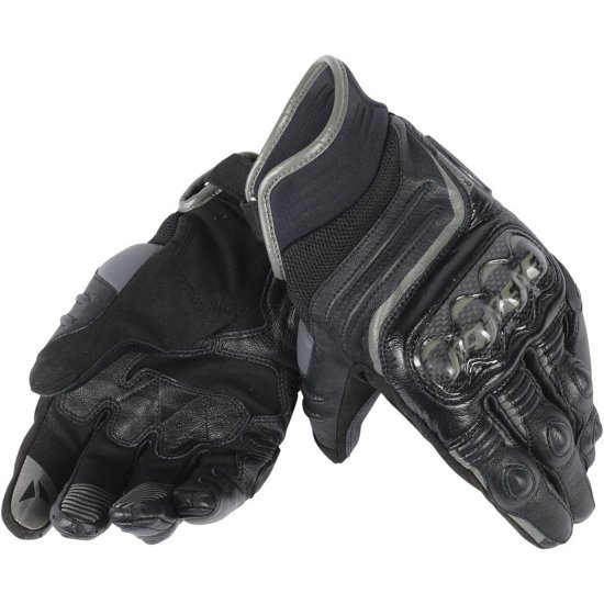 DAINESE Carbon D1 Short Black Gloves