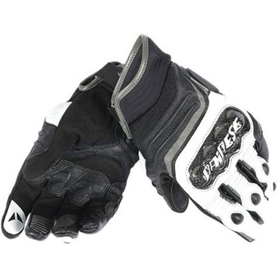 Guantes DAINESE Carbon D1 Short Black / White / Anthracite