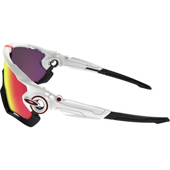 Masque / Lunettes OAKLEY Jawbreaker Polished White / Prizm Road