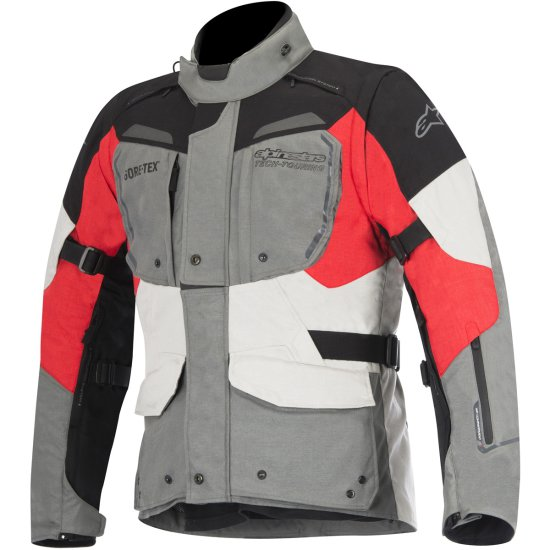 Chaqueta ALPINESTARS Durban Gore-Tex Gray / Black / Red