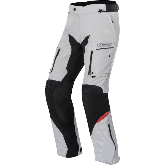 Pantalon ALPINESTARS Valparaiso 2 Drystar Light Gray / Black