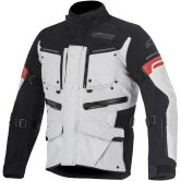 ALPINESTARS Valparaiso 2 Drystar Light Gray / Black / Red