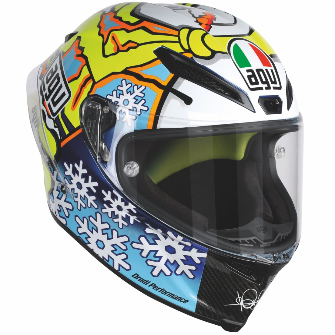 agv pista gp pinlock rossi winter test 2016 limited. Black Bedroom Furniture Sets. Home Design Ideas