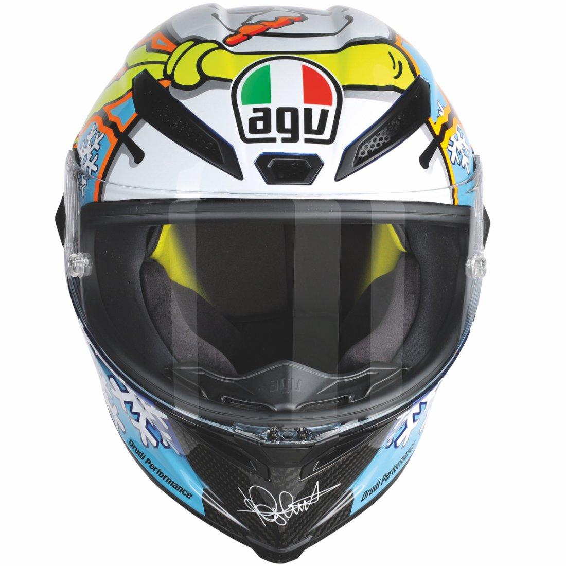 agv pista gp pinlock rossi winter test 2016 limited edition helmet motocard. Black Bedroom Furniture Sets. Home Design Ideas
