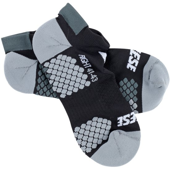 Chaussettes DAINESE D-Core Footie Black / Anthracite