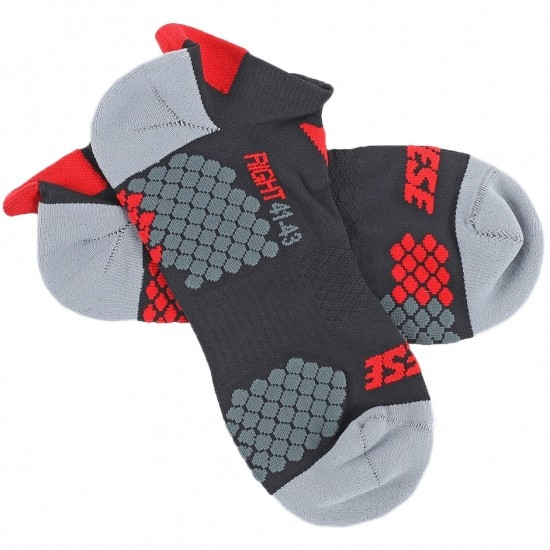 Chaussettes DAINESE D-Core Footie Black / Red