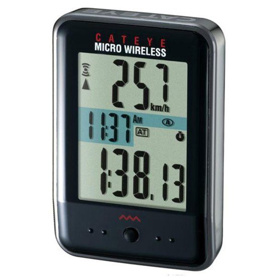 CATEYE CC-MC200W Micro Wireless Black Odometer