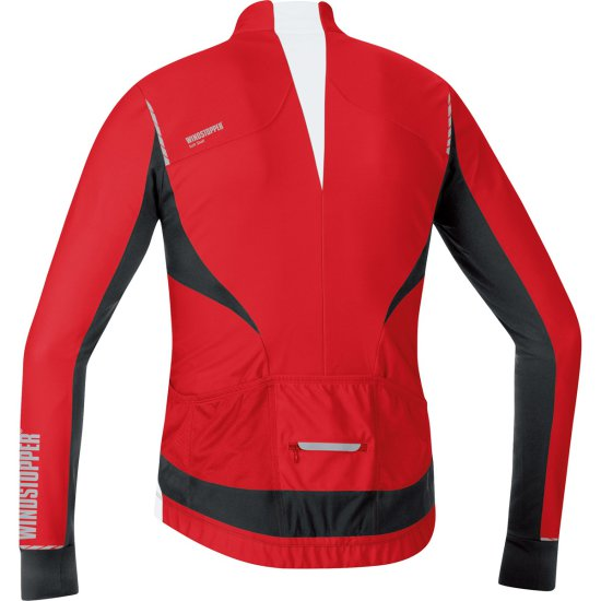 GORE Oxygen Windstopper Red / Black Jersey