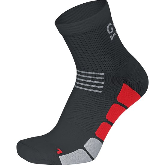 GORE Speed Mid Black / Red Socks