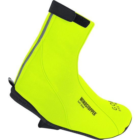 Zapatillas GORE Road Windstopper Soft Shell Thermo Neon Yellow