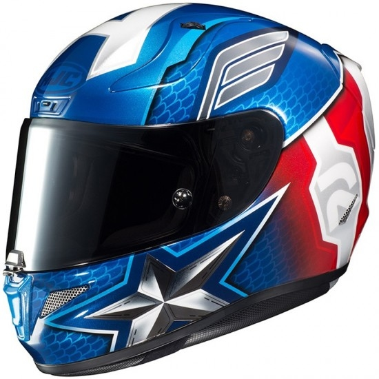 Casque HJC RPHA 11 Captain America MC-2
