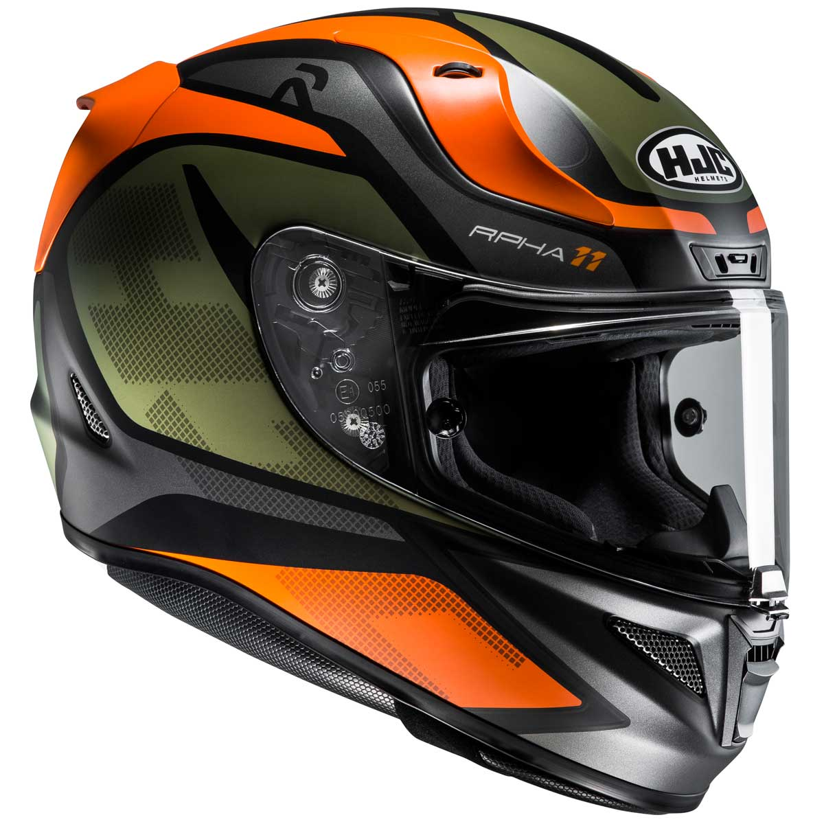 Casco HJC RPHA 11 Deroka MC-7SF
