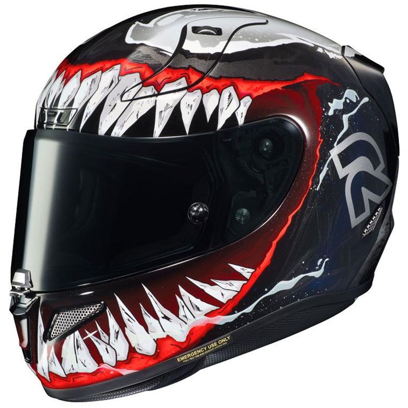 Casco HJC RPHA 11 Venom 2 Marvel MC-1