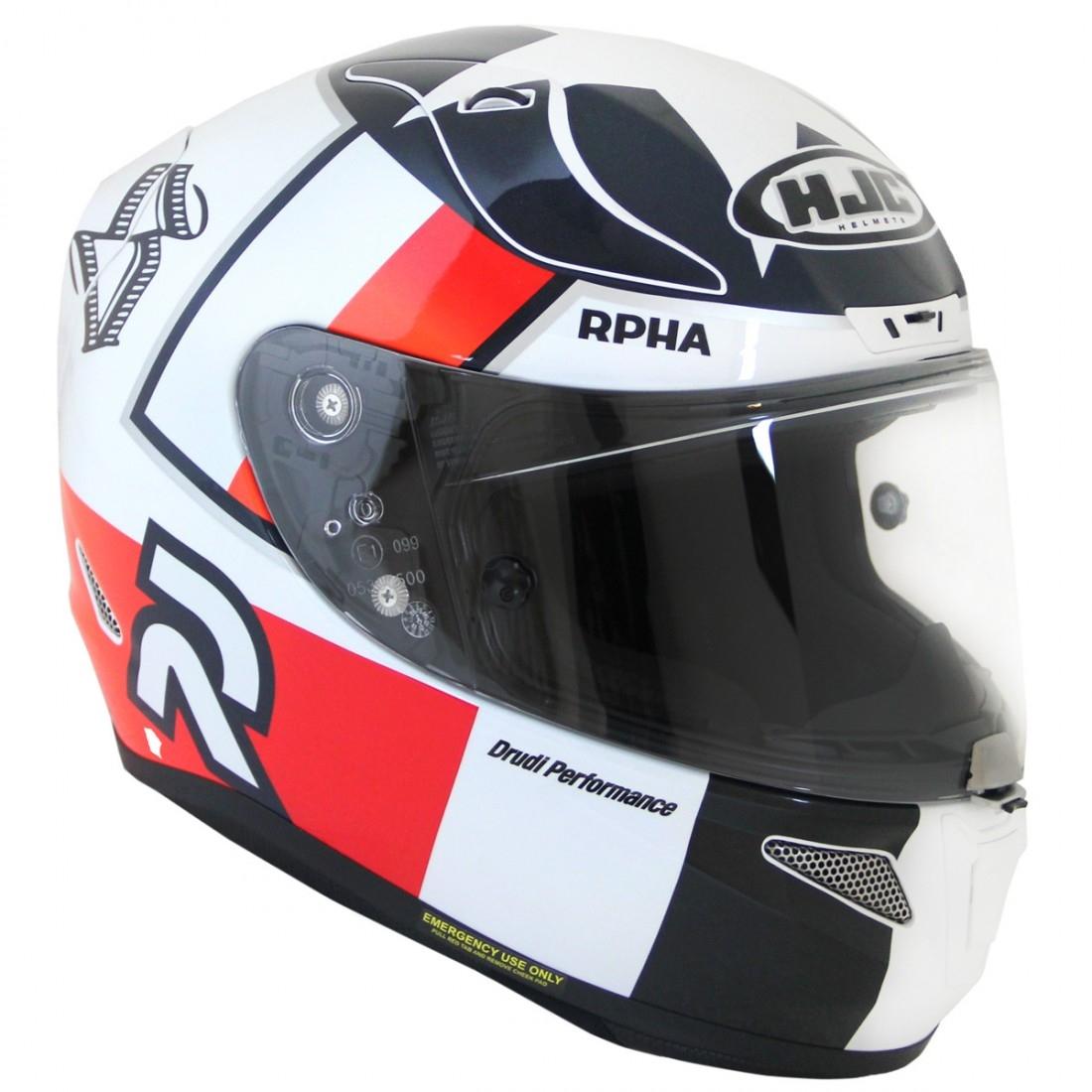 Hjc Rpha 11 >> Hjc Rpha 11 Ben Spies Mc 1 Helmet Motocard