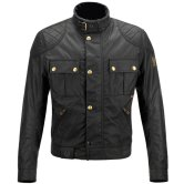 BELSTAFF Brooklands Cotton Black
