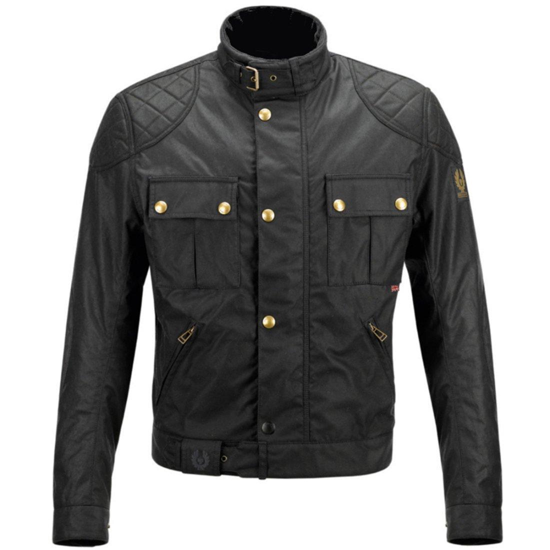 e4f09e462d BELSTAFF Brooklands Cotton Black Jacket · Motocard