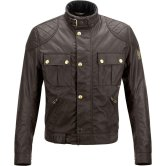 BELSTAFF Brooklands Cotton Mahogany