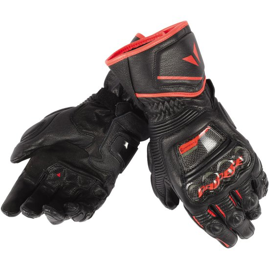 Guantes DAINESE Druid D1 Long Black / Fluo-Red