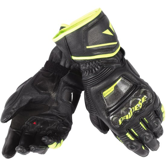 Guantes DAINESE Druid D1 Long Black / Fluo Yellow